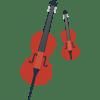 classical string duet (violin & cello)
