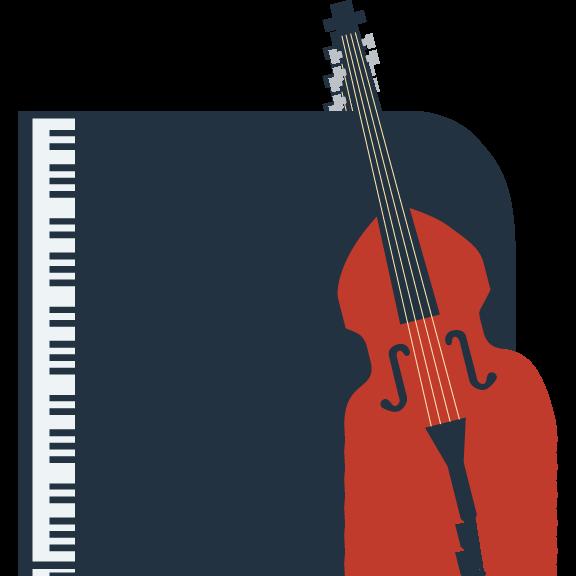jazz duet (piano & bass)